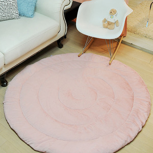 whipping cream rug-딸기우유